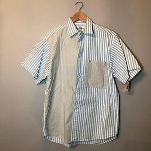 Vintage guess short sleeve shirt sz M NWT